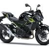 カワサキ、スーパーネイキッド Z250/400 のカラー&グラフィック変更へ