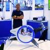 エアロネクスト、地上移動と同じ感覚で水平飛行できる「空飛ぶゴンドラ」試作モデル発表…CEATEC 2019