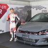 600台限定のVW『ゴルフGTI TCR』…WTCR日本戦開催中の鈴鹿サーキットにて国内発表、受注も開始