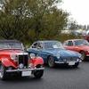 ゆるキャラと旧車がコラボ…世界キャラクターさみっとin羽生でクラシックカーの展示