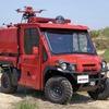 モリタの小型オフロード消防車、ドイツデザイン賞で優秀賞を受賞