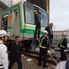 東京メトロ、異常時訓練を実施…国際的なスポーツイベント中に、列車内で爆発[フォトレポート]