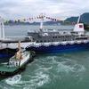 東海汽船 3代目「さるびあ丸」が進水---2020年就航予定