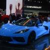 シボレー コルベット 新型、ミッドシップオープン発表…ロサンゼルスモーターショー2019