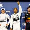 【F1 アブダビGP】ハミルトンが10戦ぶりのポールポジションを獲得