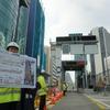 首都高渋谷線下りに新設される「渋谷入口」を報道陣に公開---中環接続でアクセス向上へ[フォトレポート]