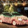 日産 リーフ にクリスマス仕様…回生ブレーキで得た電力でイルミネーション点灯[動画]