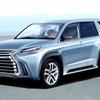 レクサスSUVの頂点『LX』次期型、2020年デビューか…新開発ラダーフレーム&電動化が目玉