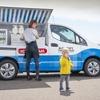 日産が電動のアイスクリーム移動販売車を提案、e-NV200 ベース…CES 2020