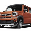 【スズキ ハスラー 新型】新開発エンジン&CVTで走りも進化 価格136万5100円より
