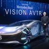 メルセデスベンツと映画『アバター』が自動運転EV、カニのように横移動が可能…CES 2020