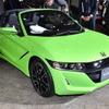 ホンダ S660 改良でデザインが進化、新色アクティブグリーンパールも…東京オートサロン2020