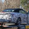BMW 4シリーズ カブリオレ 次期型はソフトトップに!2020年後半デビューへ準備着々