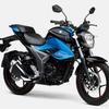 スズキ ジクサー、よりスポーティなスタイルに刷新…150ccロードスポーツバイク