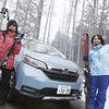 Honda フリード+ でウィンタースポーツへ… 雪道&大荷物でも安心できるコンパクトミニバン