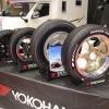 軽トラに14インチ、ハイエースに18インチとホワイトレター…ジャパンキャンピングカーショー2020