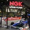 """エンジンを最大限に活かす""""NGK史上最強プラグ""""の仕組みが知れるブースを展開...大阪オートメッセ2020"""