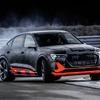 アウディ e-tron スポーツバックに高性能な「S」、3モーターで503馬力…プロトタイプ発表