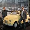 実物大フィアット 500 を18万個のレゴブロックで…1960年の映画『甘い生活』を再現