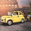 レゴ新商品、イタリアらしさ全開の「フィアット500」…説明書は当時のパンフをイメージ