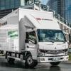 三菱ふそう、電気小型トラック『eキャンター』グローバルで150台納車達成