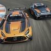メルセデスAMG GT、「GT4」レーサーに改良新型…戦闘力向上