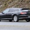 VW アルテオン シューティングブレーク を鮮明にスクープ!頂点モデルは最新「VR6」かPHEVか