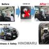 日の丸交通 タクシーにカーテン、国際自動車はハセッパー水使用…新型コロナウイルス感染防止