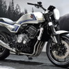 CB-Fコンセプト はホンダのリーサルウェポン!! 銀×青のスペンサーカラーでストップ・ザ・Z900RS?