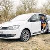 VW シャラン が移動オフィスに、新型コロナでのテレワークを支援
