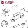 フィアット 500 ぬり絵第2弾、「アポロ13号」のミッション50周年を記念