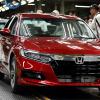ホンダの工場稼働状況…四輪車で7割、二輪車は5割
