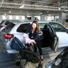 子育て家族向け駐車場を浜松市に開設…駐車幅はゆとりの1.5倍 大和ハウス×コンビ