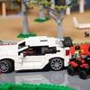 ホンダがレゴブロックでサーキットを製作…シビックタイプR も走る[動画]