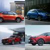 【国産コンパクトSUV まとめ】国内ラインナップの高い充実度…C-HR、ヴェゼル、CX-30、ロッキーの価格や比較、試乗記
