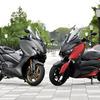 【ヤマハ TMAX560 & XMAX 比較試乗】便利なだけのスクーターとは一味違う!その実力とは…青木タカオ