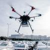 アウディが自律飛行型ドローン活用、新車の配車を効率化…ドイツ工場