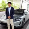 【ソニー VISION-S】車の開発にかなりアプローチできる…担当役員の思い[インタビュー]