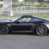 ポルシェ 911タルガ4 GTS 新型、発表間近のプロトタイプを激写