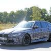 BMW M3 初のワゴン「M3ツーリング」その実車をスクープ!アウディ&AMGとガチンコ対決へ