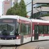 路面電車にも女性専用車…熊本市電の低床車に試験導入 9月14日-12月28日