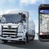 大型トラックが通行可能なルートをスマホが自動で案内…日野自動車とKDDIが「スペシャルナビパック」を提供