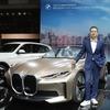 BMW コンセプト i4、2021年発売予定の新型EVを示唆…北京モーターショー2020