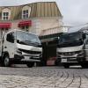 【三菱ふそう キャンター 新型】トラックコネクト・サイドガードアシスト搭載で小型から大型トラックまで先進装備が完了