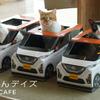 ねこ用軽自動車 日産『にゃっさんデイズ』と猫カフェ MOCHA がコラボ