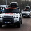 ランドローバー ディフェンダー 新型、BRXチームのサポートカーに起用…ダカールラリー2021