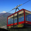 関東一の高低差「身延山ロープウェイ」40年ぶりに新型ゴンドラ導入