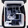 どこでもオフィスに早変わり?日産 NV350キャラバン「オフィスポッド」…東京オートサロン2021[詳細画像]