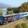 JR四国のトロッコ列車が京都に…『藍よしのがわトロッコ』 2月20日にお目見え