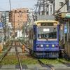 都電が「サイドリザベーション」状に線路切替…道路工事期間中